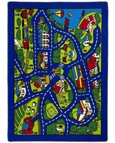 Brady Home Blue Indoor/Outdoor Area Rug AC-STBL Rug Size: 5' x 7'