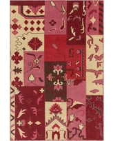 """Bloomsbury Market Casselman Patterned Contemporary Pink/Red Area Rug BLMT8264 Rug Size: 7'9"""" x 10'6"""""""