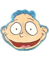 Warner Brothers Nick 90's Nickelodeon Splat Rugrats Tommy Pickles Plush Face Throw Pillow JF26757