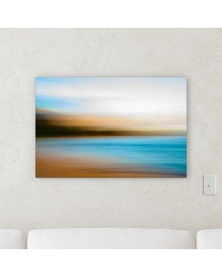 """Orren Ellis 'Abstract Style' Graphic Art Print on Wrapped Canvas BF066233 Size: 10"""" H x 20"""" W x 2"""" D"""