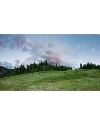 """HadleyHouseCo Day End by Scott Barlow Photographic Print on Wrapped Canvas 3710063 Size: 24"""" H x 32"""" W"""