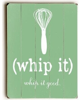 """August Grove Whip It Wall Art Plaque ATGR5039 Size: 34"""" H x 25"""" W"""
