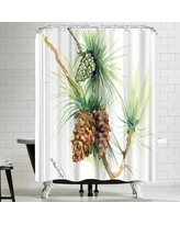 East Urban Home Suren Nersisyan Long Leaf Pine Tree II Shower Curtain ERNI0671