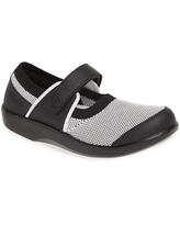 TRAQ by Alegria Alegria Qutie Mary Jane Flat, Size 6-6.5Us in Charcoal at Nordstrom