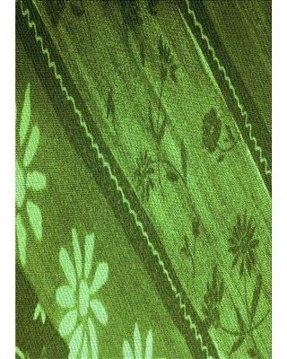 East Urban Home Mcgahan Wool Green Area Rug W002567440 Rug Size: Rectangle 2' x 3'