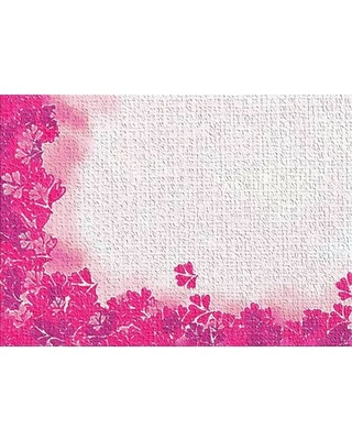 Watercolor Pink Area Rug East Urban Home Rug Size: Rectangle 2' x 4'
