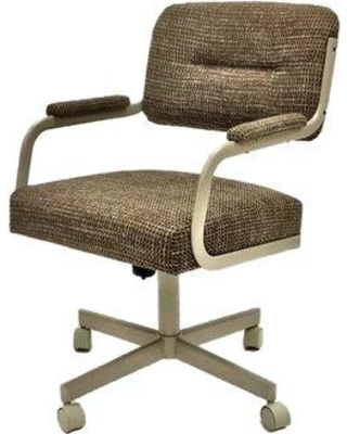 Symple Stuff Upholstered Dining Chair SYPL3816 Upholstery Color: Checkered