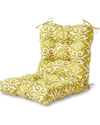 Sham Ikat Outdoor Seat Back Chair Cushion Greendale Home Fashions