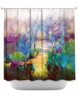 And God Saw That It Was Good Single Shower Curtain East Urban Home