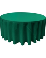 Ordinaire Teal (Blue) Round Polyester Poplin Tablecloth