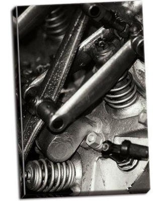 Williston Forge 'Engine IV' Photographic Print on Wrapped Canvas BF056654
