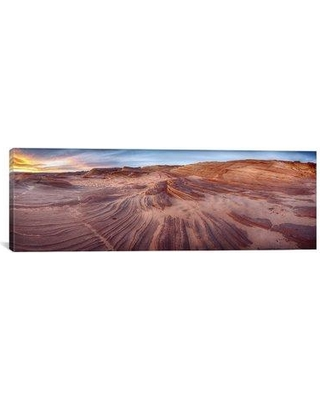 """Latitude Run 'The Great Wall' Photographic Print on Wrapped Canvas LATT5184 Size: 16"""" H x 48"""" W x 0.75"""" D"""