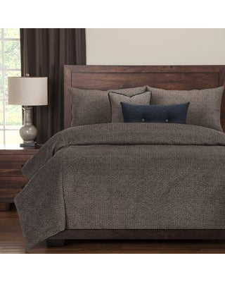 PoloGear Tumbleweed Stone Luxury Duvet Cover and Comforter Set (Queen)
