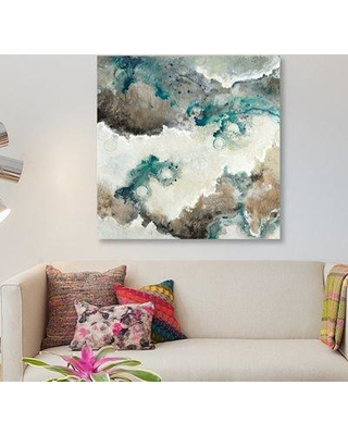 """East Urban Home 'Next Wave' Print on Canvas ERBH3507 Size: 26"""" H x 26"""" W x 0.75"""" D"""