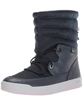 Keds Women's Tally Point Boot Nylon Thinsulate WCX Ankle, Navy Metallic, 8 M US