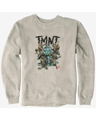 Teenage Mutant Ninja Turtles Group Fight Shredder Sweatshirt