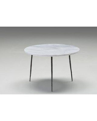 Brayden Studio Atropos Low End Table BYST7519 Top Color: White Marble