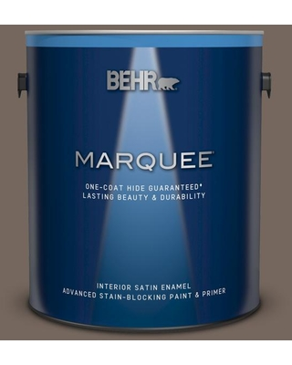 BEHR MARQUEE 1 gal. #780B-6 Mountain Ridge Satin Enamel Interior Paint and Primer in One