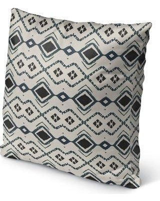"""Union Rustic Arellano Indoor/Outdoor Throw Pillow UNRS2216 Size: 16"""" H x 16"""" W x 6"""" D"""