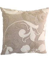 India's Heritage Hand Embroidery Throw Pillow C844