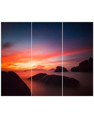 East Urban Home 'Dramatic Late Sunset' Photographic Print Multi-Piece Image on Wrapped Canvas FCIV5786