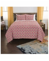 Riztex Usa Lilou 2 Pc. Quilt Set, Twin - Red