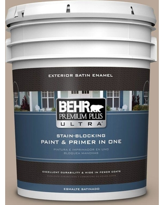 The Best Sales For Behr Ultra 5 Gal Bxc 43 Desert Sandstorm Satin Enamel Exterior Paint And Primer In One