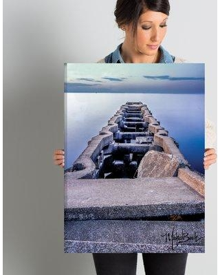 """Latitude Run 'Ancient Pier' Photographic Print on Wrapped Canvas LTDR7141 Size: 24"""" H x 18"""" W x 2"""" D"""