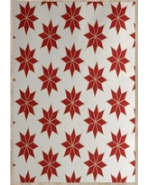 The Holiday Aisle Christmass Geometric Red Indoor/Outdoor Area Rug THLA6852 Rug Size: Rectangle 3' x 5'