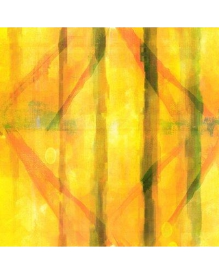 """Marmont Hill 'Abstract G' Painting Print on Wrapped Canvas G102-68-C Size: 18"""" H x 18"""" W"""