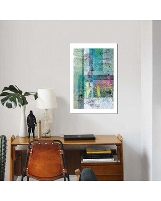 """East Urban Home 'Abstract Tones' Print on Canvas EBHS6104 Size: 40"""" H x 26"""" W x 1.5"""" D"""