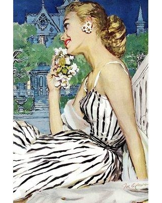 """Marmont Hill 'Walk to the Dance' Print on Wrapped Canvas MH-FASGLM-84-C Size: 45 """" H x 30"""" W"""