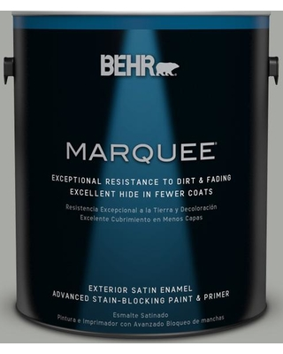 BEHR MARQUEE 1 gal. #PPU25-15 Flipper Satin Enamel Exterior Paint and Primer in One