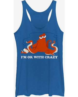 Disney Pixar Finding Dory Hank Ok Crazy Girls Tank
