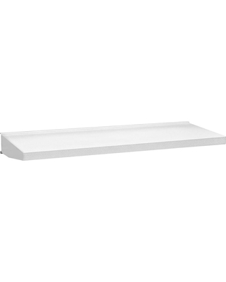 Gladiator Premier Series 30 in. W x 12 in. D Steel Garage Shelf in Hammered White