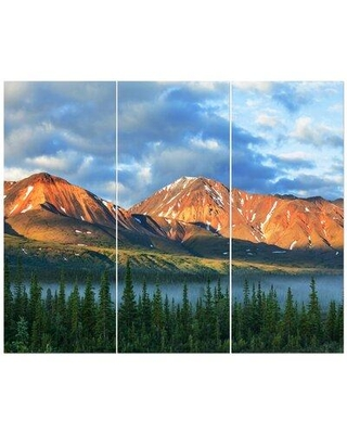 East Urban Home 'Mountains on Alaska' Photographic Print Multi-Piece Image on Wrapped Canvas FCIV5806