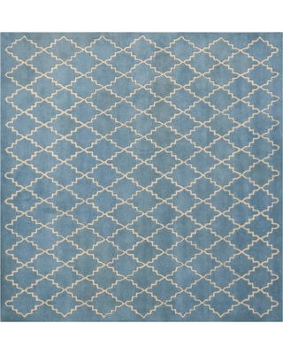 Safavieh Chatham Blue Gray 5 ft. x 5 ft. Square Area Rug