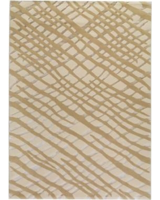 """Bloomsbury Market Ace White/Grey Area Rug BLMY2455 Rug Size: 5'2"""" x 7'6"""""""
