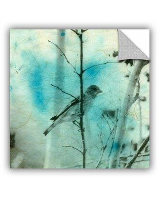 """ArtWall Asain Bird by Elena Ray Removable Wall Decal 0ray027a Size: 18"""" H x 18"""" W x 0.1"""" D"""