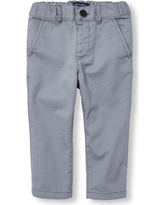 s Baby And Toddler Boys Skinny Chino Pants - Gray - The Children's Place