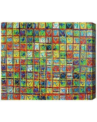"""Brayden Studio Love Phases Painting Print on Wrapped Canvas BRYS1610 Size: 20"""" H x 24"""" W x 1.5"""" D"""