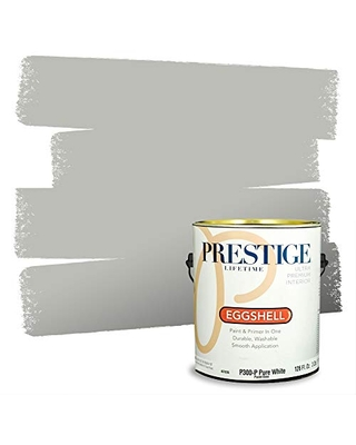 Prestige Paints P300-P-SW7065 Interior Paint and Primer in One, 1-Gallon, Eggshell, Comparable Match of Sherwin Williams Argos, 1 Gallon, SW300-Argos