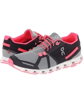 On - Cloud (Grey/Neon Pink) Women's Running Shoes