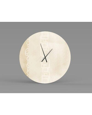 East Urban Home Smithson Wall Clock W001833618 Size: Small