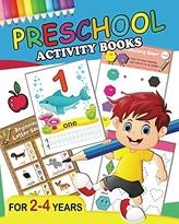 Preschool Activity Books: Fun Big Workbook for Toddler age 2-4