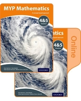 MYP Mathematics 4 and 5 Standard: Print and Online Course Book Pack (IB MYP SERIES)