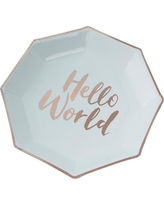 8ct Ginger Ray Green Paper Plates Hello World  sc 1 st  Better Homes and Gardens & Summer Sale: Ginger Ray Rock Rocking Horse \u0026 Teddy Vintage Paper ...