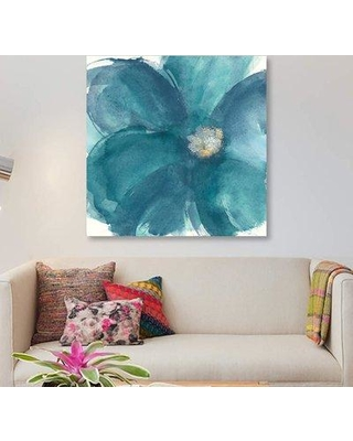 """East Urban Home 'Bloom Beauty I' Print on Canvas ETRC3536 Size: 48"""" H x 48"""" W x 1.5"""" D"""