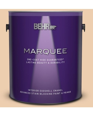 BEHR MARQUEE 1 gal. #S270-2 Chai Eggshell Enamel Interior Paint and Primer in One