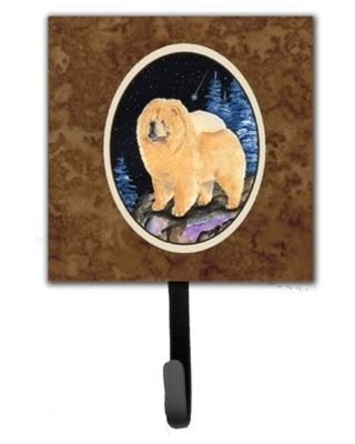 Starry Night Chow Chow Leash Holder and Key Hook